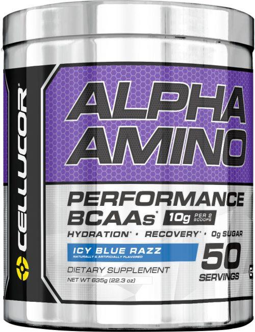 Cellucor Alpha Amino - 50 Servings Icy Blue Razz
