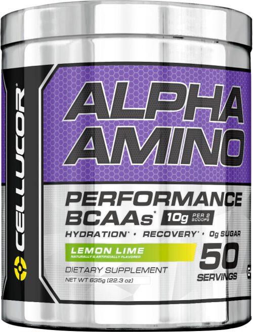 Cellucor Alpha Amino - 50 Servings Lemon Lime