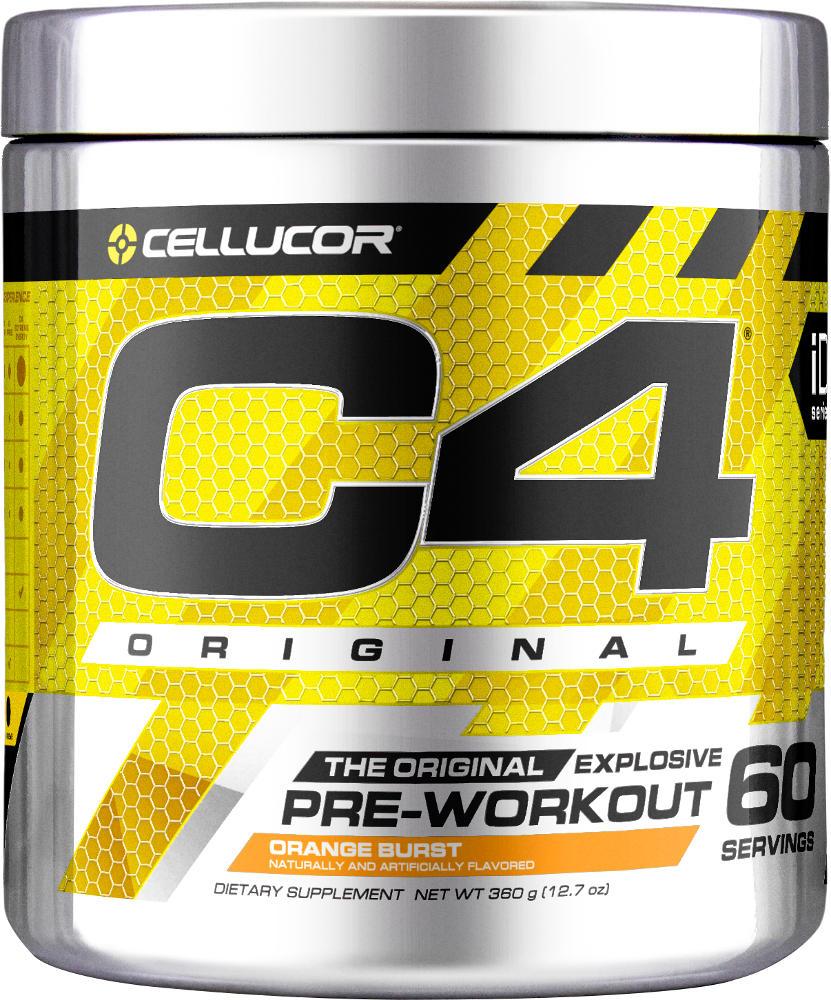 Cellucor C4 - 60 Servings Orange Burst