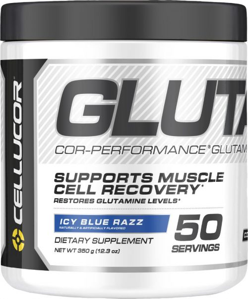 Cellucor COR-Performance Glutamine - 50 Servings Icy Blue Razz