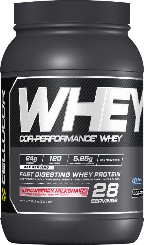 Cellucor COR-Performance Whey - 2lbs Strawberry Milkshake