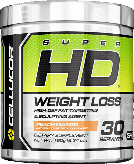 Cellucor Super HD - 30 Servings Peach Mango