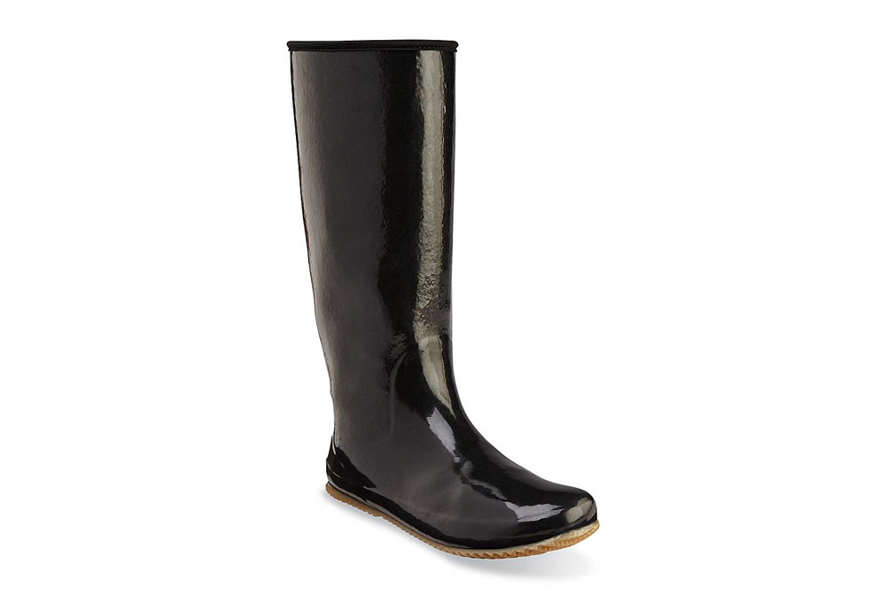 Chooka Packable Rain Boots - Women's - black, 7