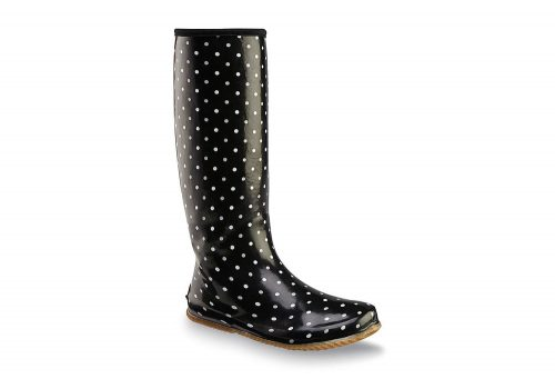 Chooka Packable Rain Boots - Women's - polka dots, 7
