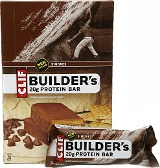 Clif Builder's Bar - Box of 12 Crunchy Peanut Butter