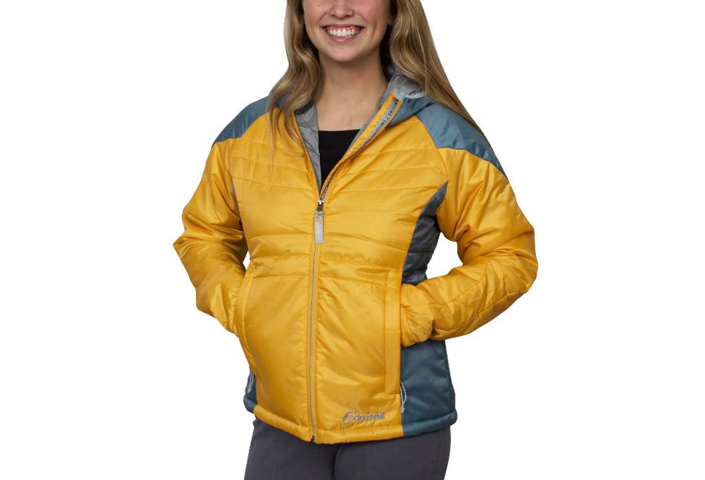 Cloudveil Enclosure Hooded Jacket - Women's - butterscotch, xsmall