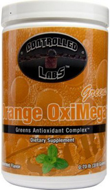 Controlled Labs Orange OxiMega Greens - 60 Servings Spearmint