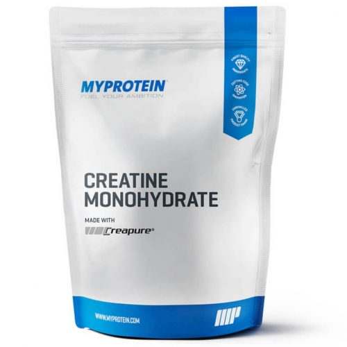Creatine Monohydrate (Creapure), Blue Raspberry, 0.5 lb (USA)
