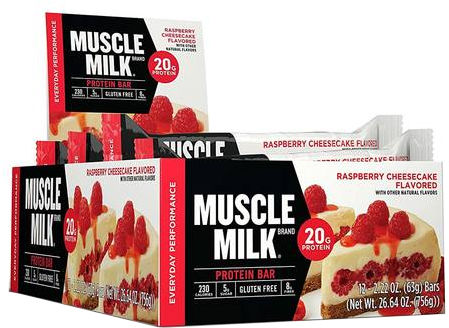 CytoSport Muscle Milk Red Bar - Box of 12 Double Fudge Brownie