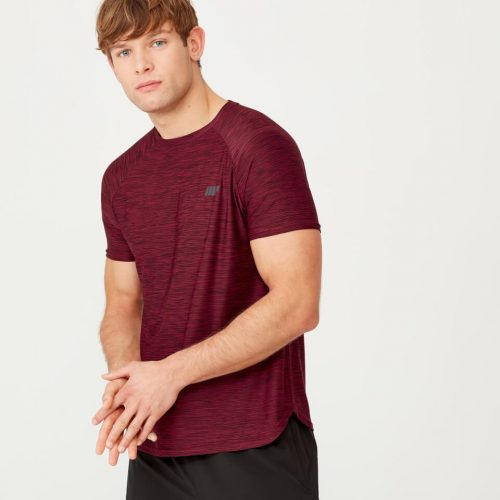 Dry-Tech Infinity T-Shirt - Red Marl - XS
