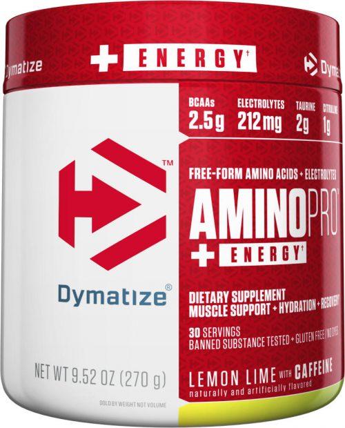 Dymatize Amino Pro - 30 Servings (Caffeinated) Lemon Lime