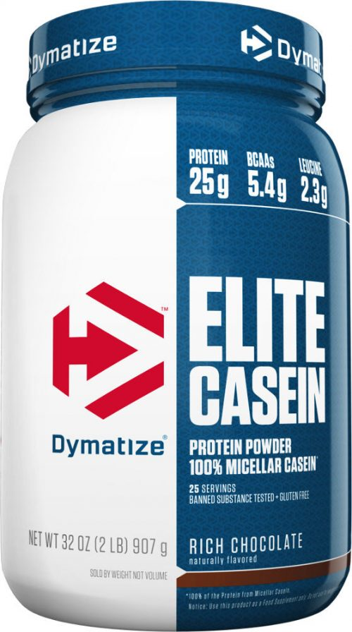 Dymatize Elite Casein - 2lbs Smooth Vanilla