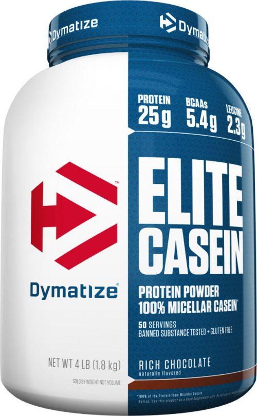 Dymatize Elite Casein - 4lbs Rich Chocolate