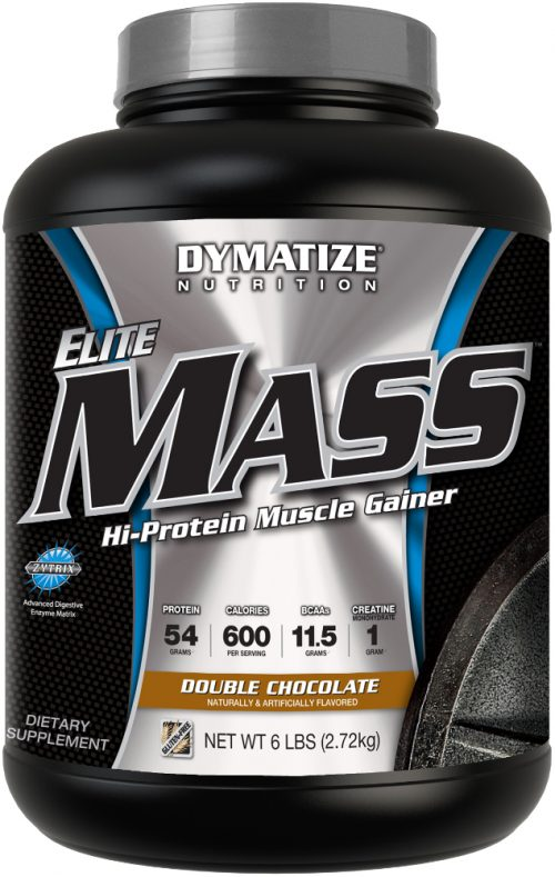 Dymatize Elite Mass - 6lbs Double Chocolate