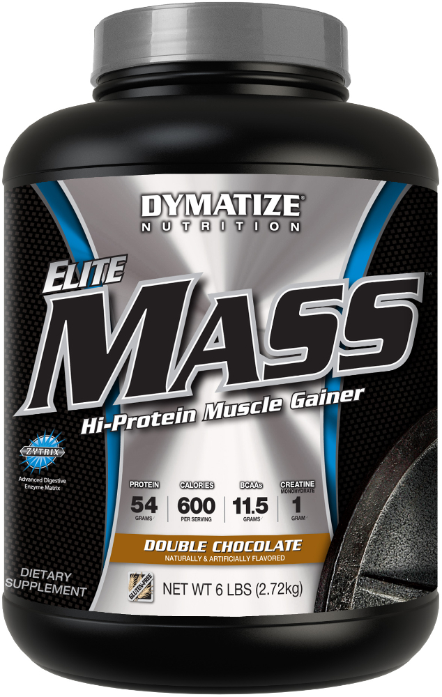 Dymatize Elite Mass - 6lbs Double Chocolate