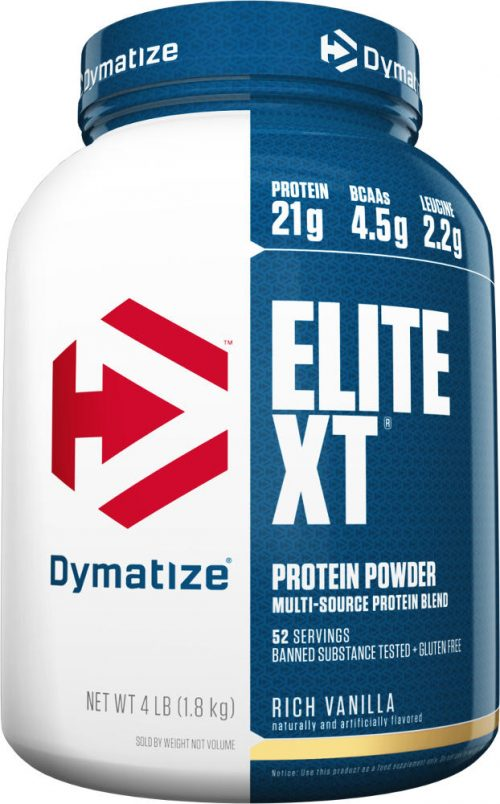 Dymatize Elite XT - 4lbs Rich Vanilla