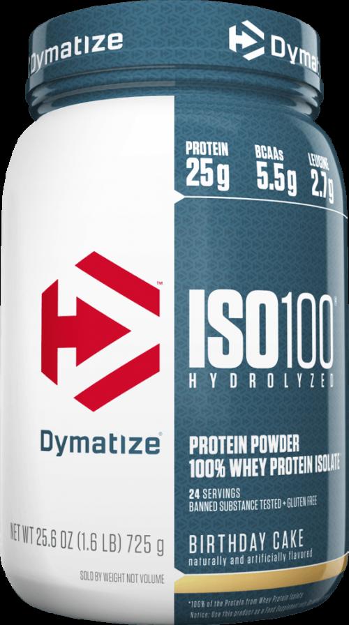 Dymatize ISO100 - 1.6lbs Birthday Cake