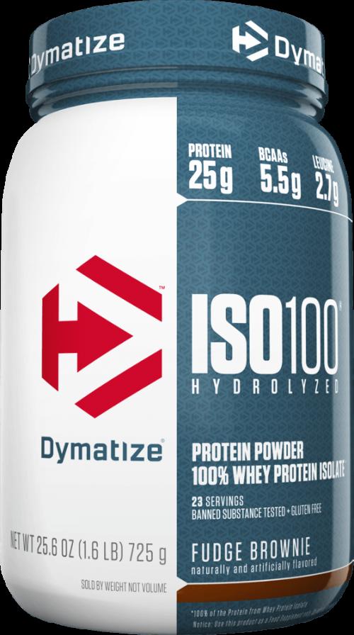 Dymatize ISO100 - 1.6lbs Fudge Brownie
