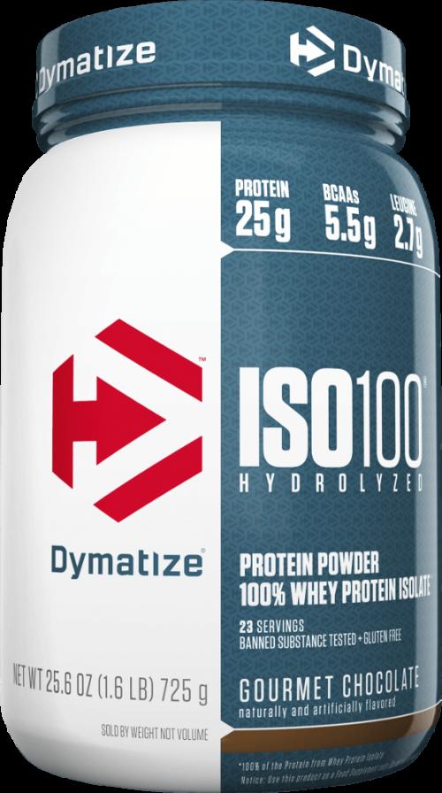 Dymatize ISO100 - 1.6lbs Gourmet Chocolate