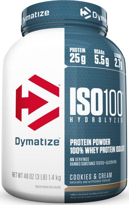 Dymatize ISO100 - 3lbs Cookies & Cream