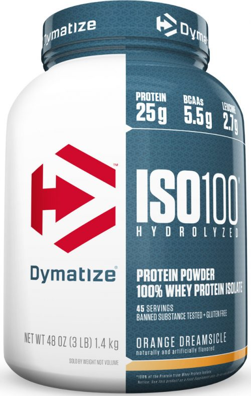 Dymatize ISO100 - 3lbs Orange Dreamsicle