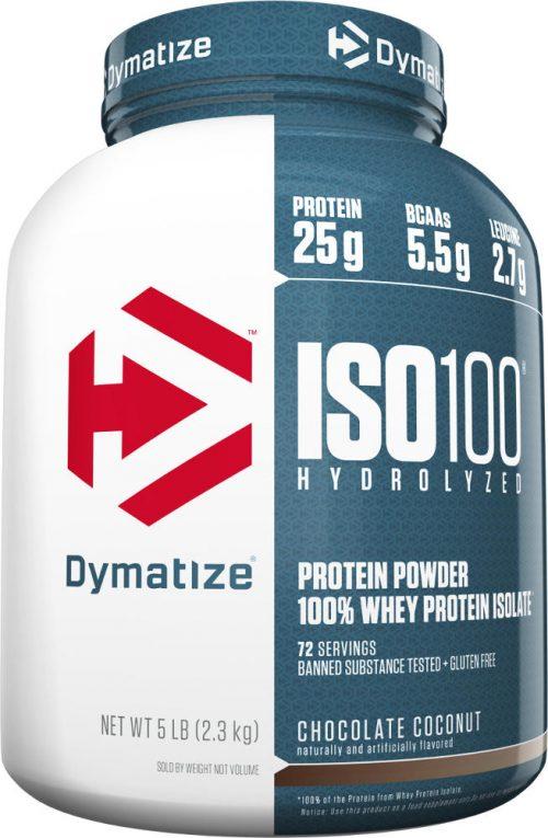 Dymatize ISO100 - 5lbs Chocolate Coconut