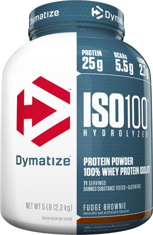 Dymatize ISO100 - 5lbs Fudge Brownie