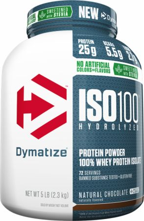 Dymatize ISO100 Natural Series - 5lbs Natural Chocolate
