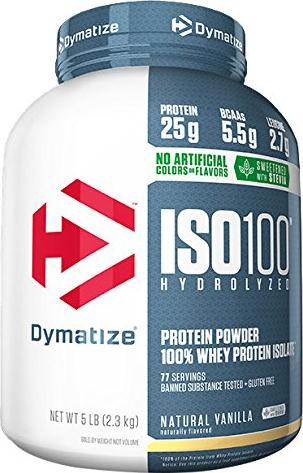 Dymatize ISO100 Natural Series - 5lbs Natural Vanilla