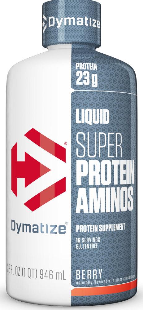Dymatize Liquid Super Protein Aminos - 32oz Berry