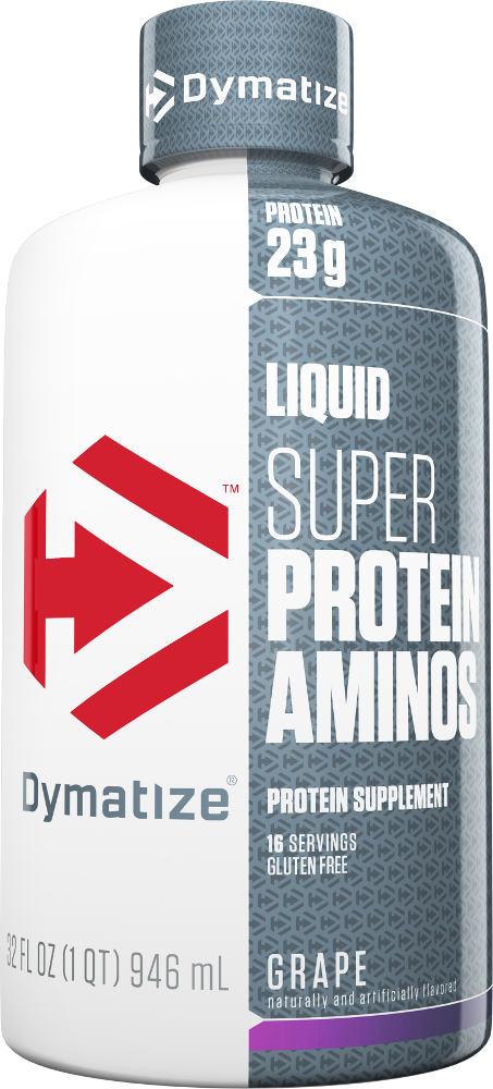 Dymatize Liquid Super Protein Aminos - 32oz Orange
