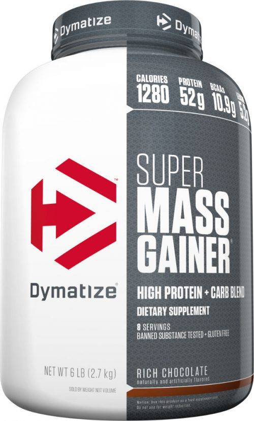Dymatize Super Mass Gainer - 6lbs Strawberry