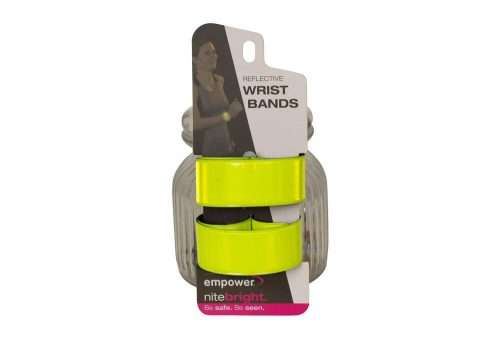 Empower Reflective Slap Bands - high viz yellow, one size