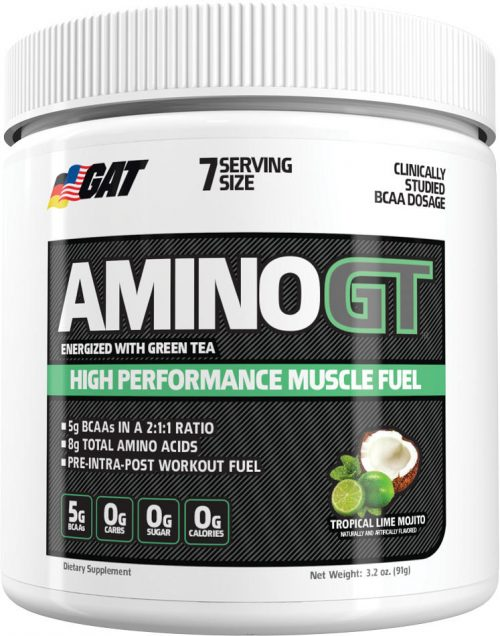 GAT Sport AminoGT - 7 Servings Tropical Lime Mojito