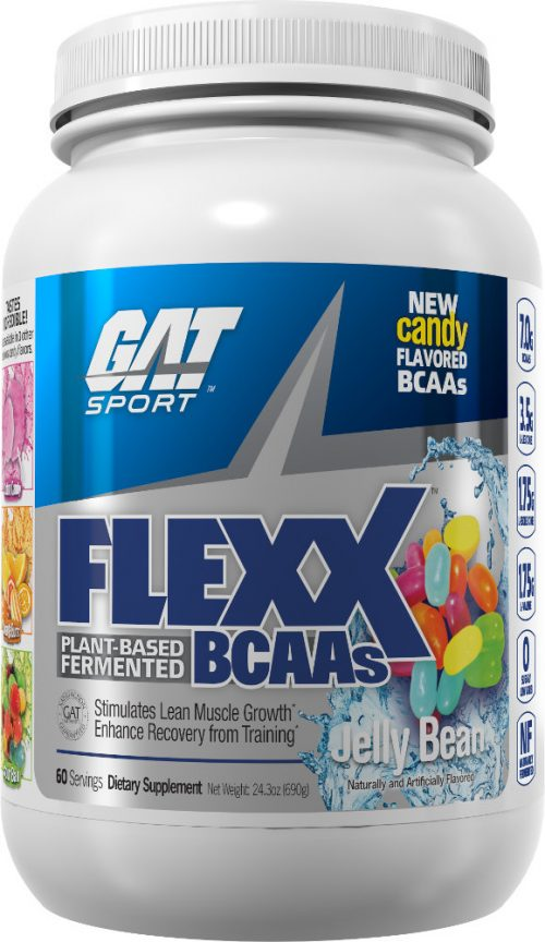 GAT Sport Flexx BCAAs - 60 Servings Jelly Bean