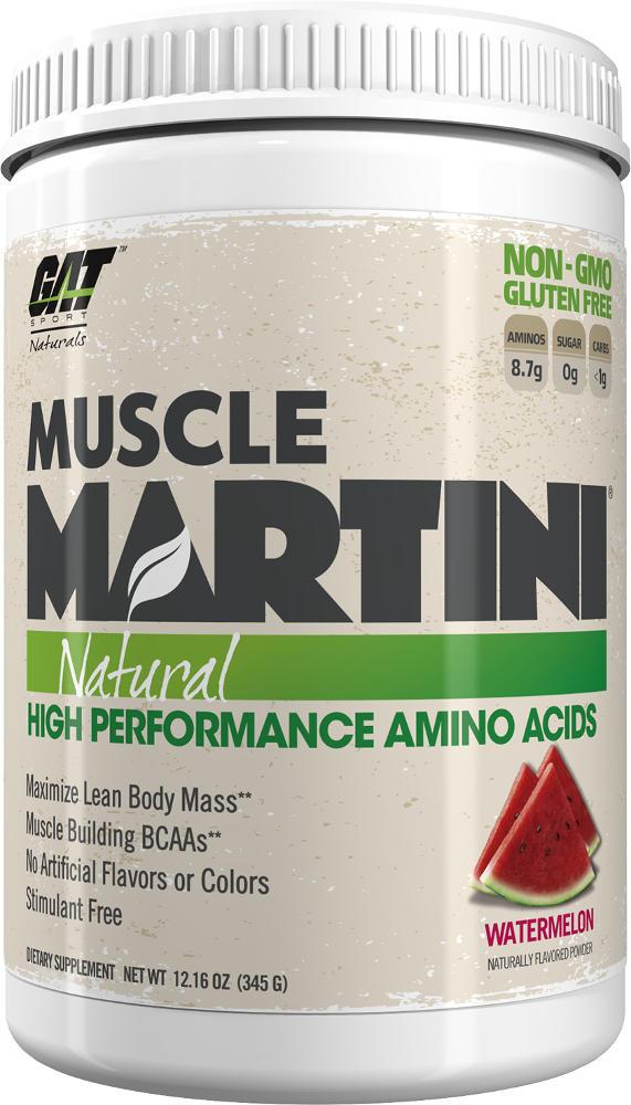 GAT Sport Muscle Martini Natural - 30 Servings Watermelon