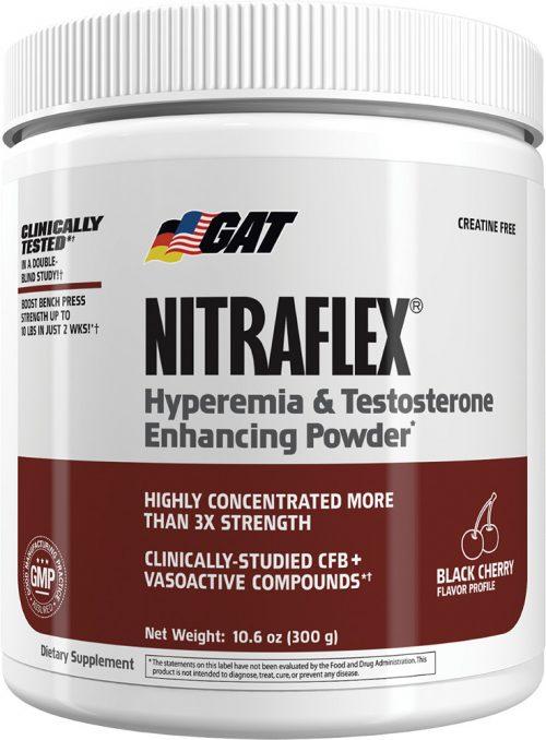 GAT Sport Nitraflex - 30 Servings Black Cherry