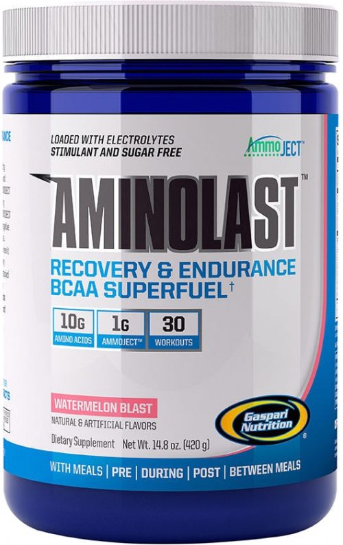 Gaspari Nutrition AminoLast - 30 Servings Watermelon Blast