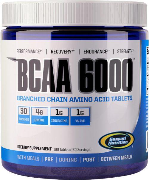 Gaspari Nutrition BCAA 6000 - 180 Tablets