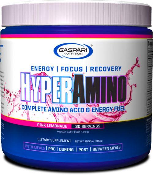 Gaspari Nutrition Hyper Amino - 30 Servings Pink Lemonade