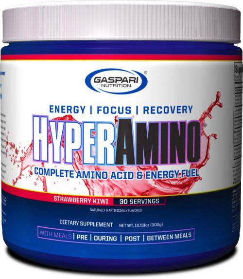Gaspari Nutrition Hyper Amino - 30 Servings Strawberry Kiwi