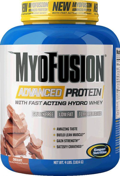 Gaspari Nutrition Myofusion Advanced - 2lbs Strawberries & Cream