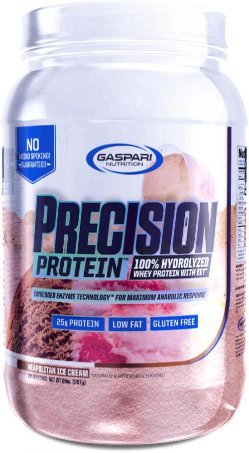 Gaspari Nutrition Precision Protein - 28 Servings Neapolitan Ice Cream