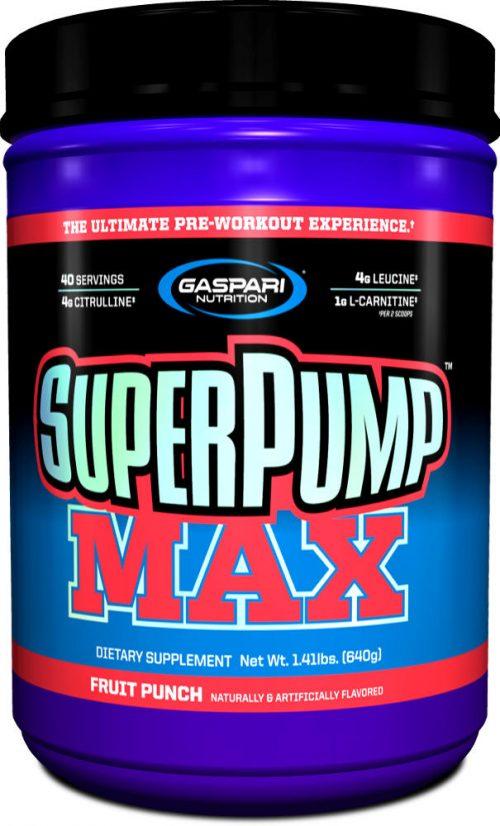 Gaspari Nutrition SuperPump MAX - 40 Servings Fruit Punch