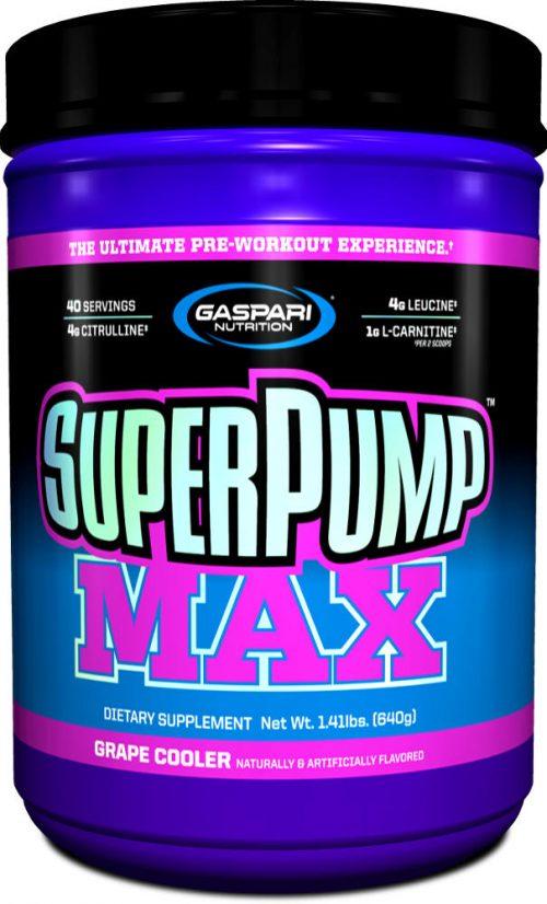 Gaspari Nutrition SuperPump MAX - 40 Servings Grape Cooler