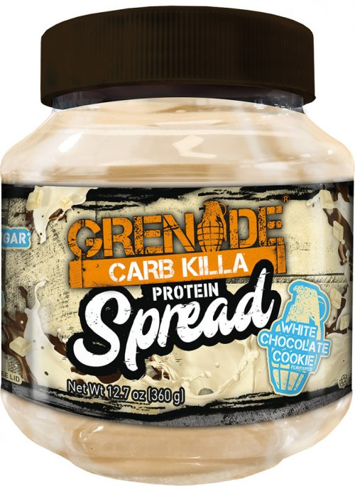 Grenade Carb Killa Protein Spread - 11 Servings White Chocolate Cookie