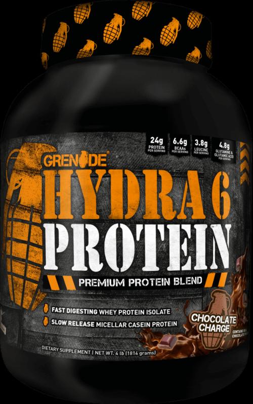 Grenade Hydra 6 - 4lbs Chocolate Charge