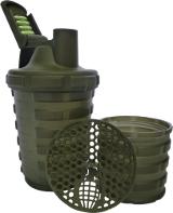 Grenade Shaker - 20 oz Gun Metal Grey