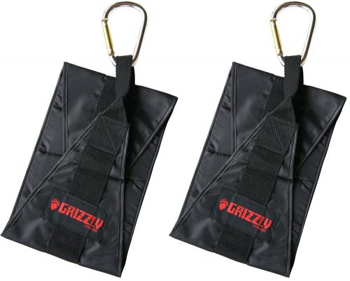 Grizzly Fitness Deluxe Hanging Ab Straps - 1 Pair