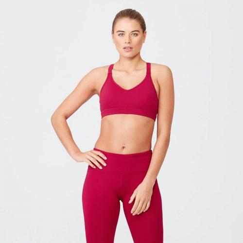 Heartbeat Sports Sports Bra - Red - S